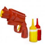 Senap-och-ketchuppistolen