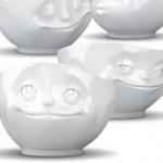 Porslinsskål-Ansikte