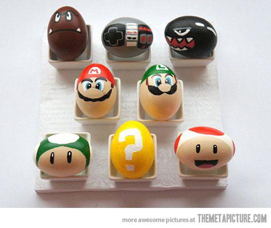 super mario ägg
